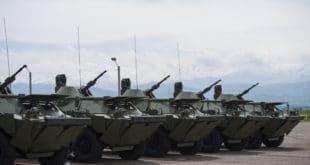Војска Србије добила од Русије на поклон 10 оклопно-извиђачких возила БРДМ-2 12