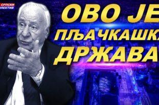 """Др Слободан Kомазец: """"Ово је пљачкашка држава, странке на власти су канцер српске економије""""! (видео)"""