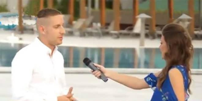На помен Горана Весића у негативном контексту новинарка ПИНК-а прекида прилог! (видео) 1