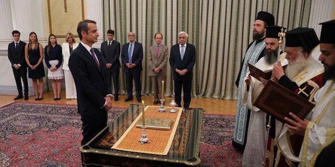 Мицотакис положио заклетву као нови премијер Грчке 1