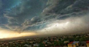 Невероватне фотографије неба над Новим Садом пре и после невремена (фото) 5