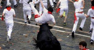 Пет идиота повређено у трци са биковима у Шпанији 3