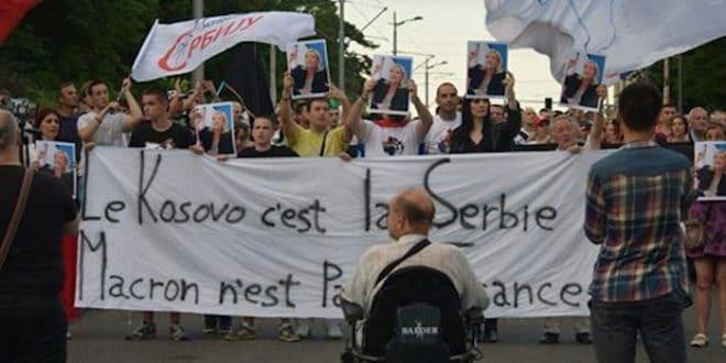 Данас у 15 часова протест на Калемегдану против посете Макрона Србији 1