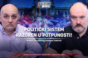 АKТУЕЛНО: Политички систем разорен у потпуности - Дејан Златановић и Миодраг Зарковић (видео)
