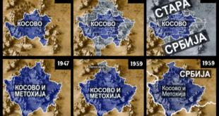 Како су комунисти мењали границу Косова после 1945. 9