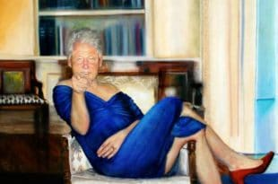 У вили педофила Џефрија Епстајна пронађена бизарна слика Била Клинтона у хаљини