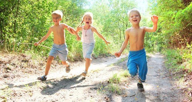 Деца недовољно активна, вратити их игри у природи 1