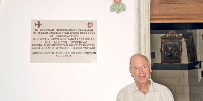 Грајф тражи од папе да се уклони плоча Степинцу постављена у Јерусалиму 1