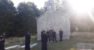 ЂАВО у Црној Гори забранио служење Свете Литургије у цркви на Ивановим коритима