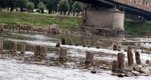 Из Мораве се појавили остаци моста из времена турске окупације (фото) 3