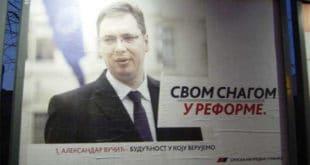 За цепање плаката са Вучићевим ликом казна 10.000 3