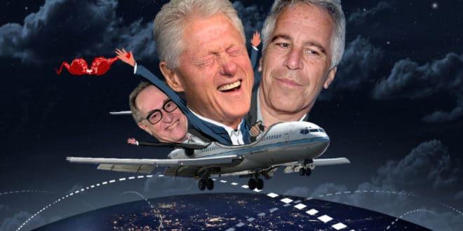 """Бил Клинтон авионом """"Лолита експрес"""" 26 пута долазио на """"педофилско острво оргија"""" 1"""