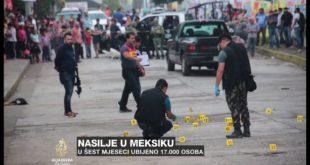 Мексико: 17.000 људи убијено у првој половини 2019. (видео) 2