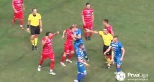 ХАОС у Горњем Милановцу: Туча, прекид и ЧЕТИРИ црвена картона! (видео) 12