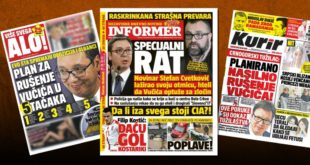 Режимски таблоиди у Србији: Дебеле паре за масне лажи 7