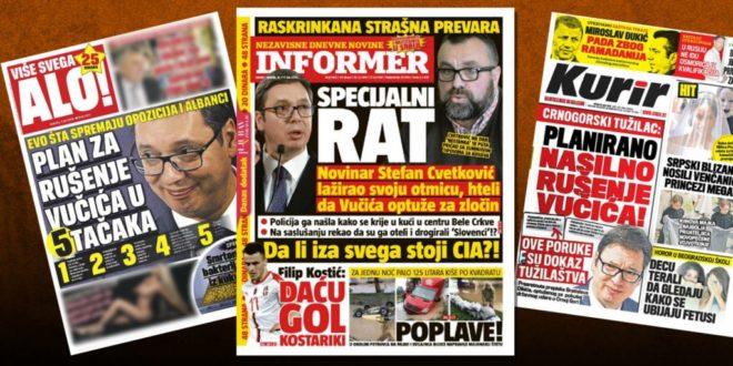 Режимски таблоиди у Србији: Дебеле паре за масне лажи 1
