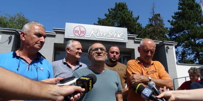 Радници Крушика: Ништа није регуларно, ни у реду, и Вучић то зна