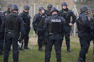 Словенија мобилисала помоћну полицију због миграната