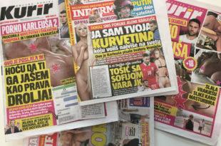 Раскрикавање: За пола године више од 400 лажи на насловницама четири режимска таблоида