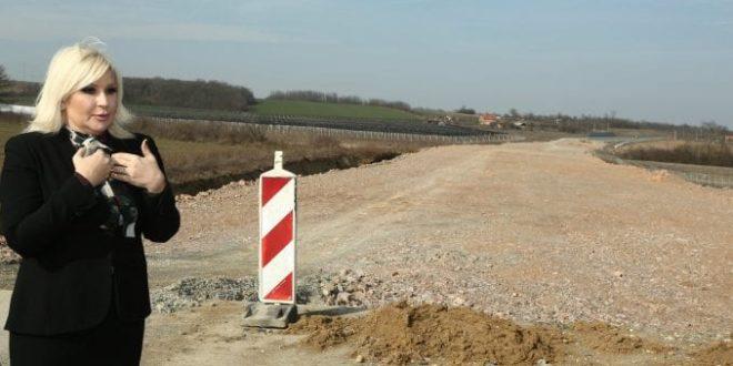 Зорана Михајловић обмањује јавност, Моравски коридор не пролази кроз Шумадију