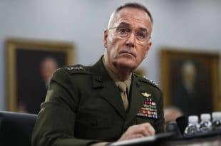 Шеф америчког генералштаба Џозеф Данфорд: НАТО је изгубио надмоћ над Русијом