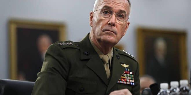 Шеф америчког генералштаба Џозеф Данфорд: НАТО је изгубио надмоћ над Русијом 1