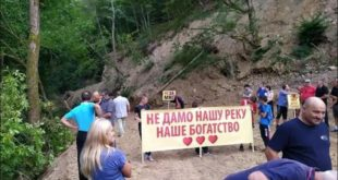 Изградња мини хидроелектране на Трипошници: Отпор моћним инвеститорима (видео) 5