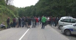 Радманово - протест и блокада пута због изградње минихе (видео) 2
