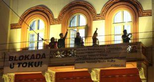 Студенти у блокади: Истераћемо плагијат Синише Малог на чистац 8