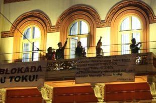 Студенти у блокади: Истераћемо плагијат Синише Малог на чистац