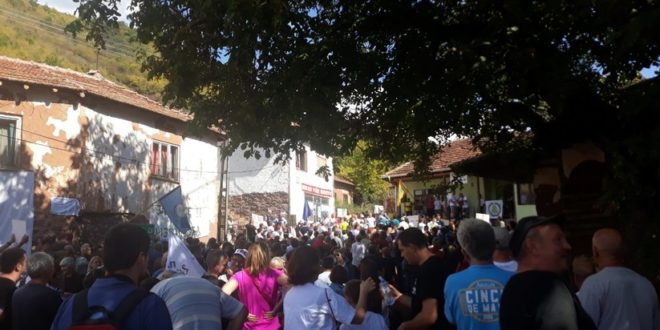 Протест у Топлом Долу против изградње малих хидроелектрана: Борба није готова, чекамо званичну одлуку Владе