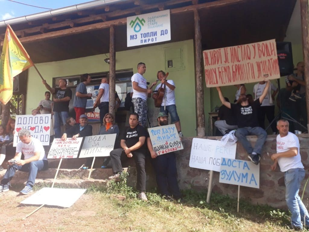 Протест у Топлом Долу против изградње малих хидроелектрана: Борба није готова, чекамо званичну одлуку Владе 2