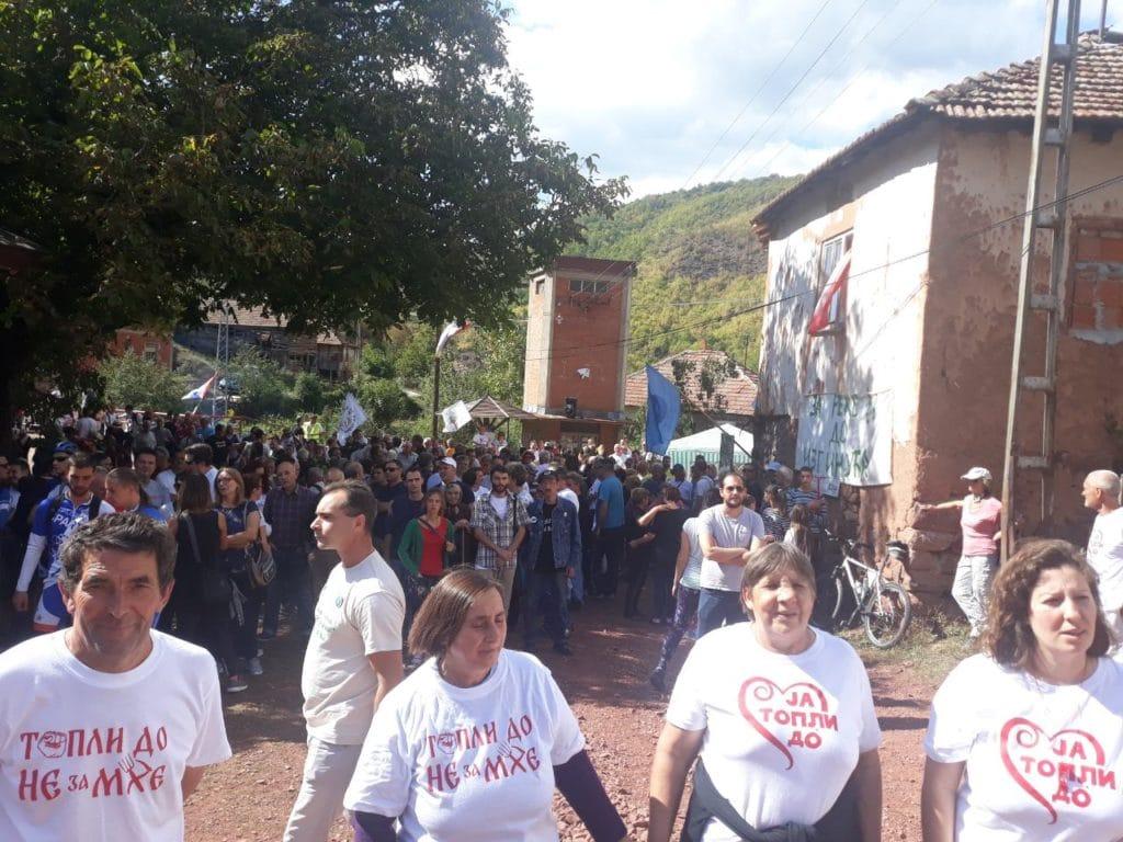 Протест у Топлом Долу против изградње малих хидроелектрана: Борба није готова, чекамо званичну одлуку Владе 3