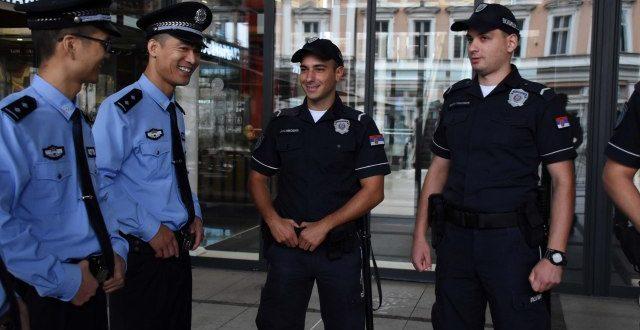 Од данас су на улицама Београда и кинески полицајци