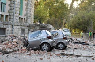 Најјачи земљотрес у Албанији у задњих 30 година оштетио више од 600 кућа (видео)