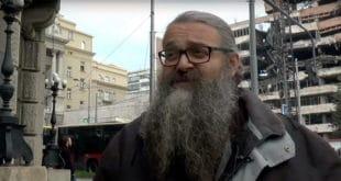 Монах Антоније синоћ поново хапшен од стране полиције, однешен у станицу, па пуштен… 6