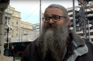Монах Антоније синоћ поново хапшен од стране полиције, однешен у станицу, па пуштен…