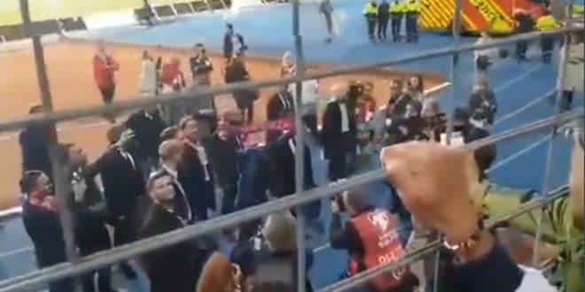 Погледајте како је Брнабићка заиста дочекана на стадиону у Луксембургу (видео) 1