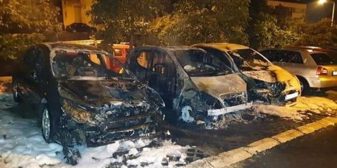 У Лазаревцу подметнуте експлозивне направе испод два аутомобила опозиционог активисте Александра Дражића 1