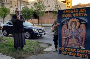 Полиција привела монаха Антонија због геј параде из 2018. године