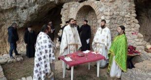 У Немањиној пећини молитва после три века
