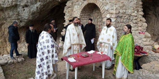 У Немањиној пећини молитва после три века 1