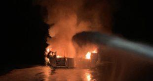 Пожар на броду испред обала Калифорније – 34 мртва 9