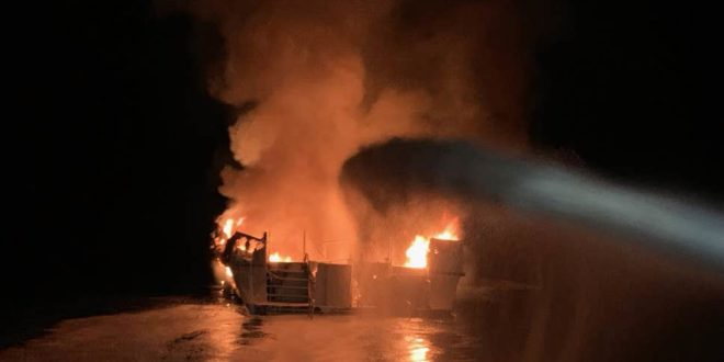 Пожар на броду испред обала Калифорније – 34 мртва 1