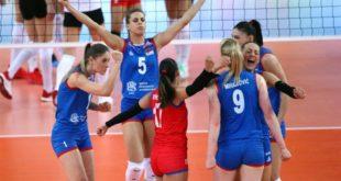 ЕВРОПСКЕ ШАМПИОНКЕ! Србија је одбранила европску титулу 7