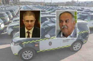 """Фирма """"ГИМ"""", у којој је ангажован отац Небојше Стефановића, набавља за МУП 49 џипова Ренџ ровер Дискавери, у вредности од 2,5 милиона"""