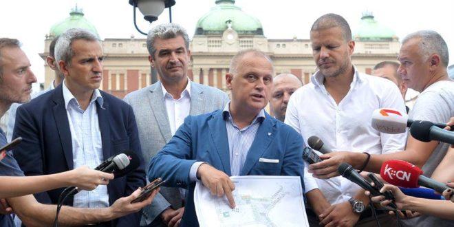 Весић је на Тргу Републике у Београду закопао 9,5 милиона евра