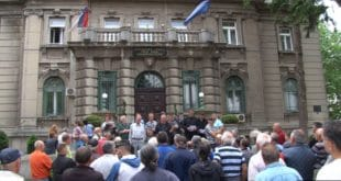 Ветерани у Нишу протестовали због неисплаћених ратних дневница 11