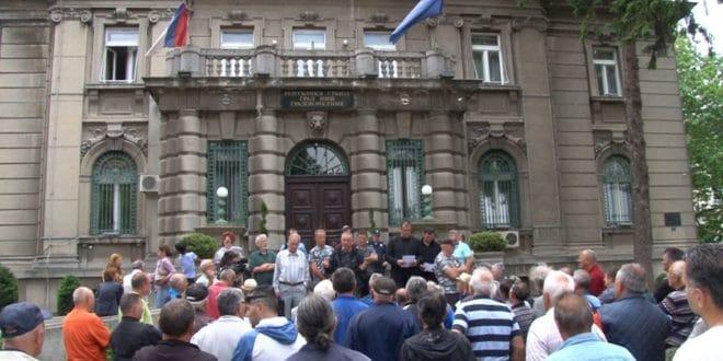 Ветерани у Нишу протестовали због неисплаћених ратних дневница 1