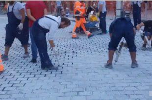 Београд: Александре Вучићу ко је опљачкао 10 милиона € !!! (видео)